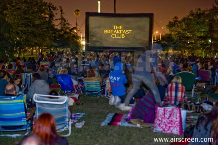 "Hollywood Outdoor Cinema Food Fest ""The Breakfast Club"""